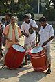Dhak and Kanshar Players - Durga Idol Immersion Ceremony - Baja Kadamtala Ghat - Kolkata 2012-10-24 1441.JPG