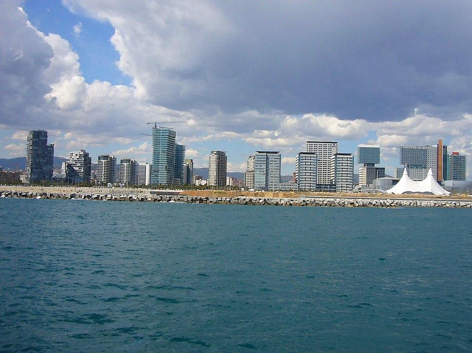 Vista de Diagonal Mar
