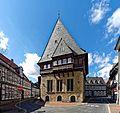 Die Altstadt Goslar, das Bäckergildehaus.jpg