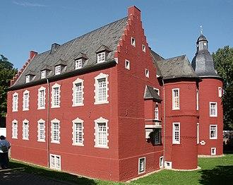 Alsdorf - Die Burg Alsdorf in Alsdorf