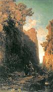 Die Flucht nach Aegypten (Spitzweg)