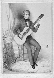Dionisio Aguado y García Spanish classical guitarist and composer