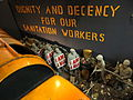 Diorama of Memphis Sanitation Workers Strike - National Civil Rights Museum - Downtown Memphis - Tennessee - USA - 02.jpg