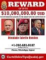 Diosdado Cabello reward poster.jpg