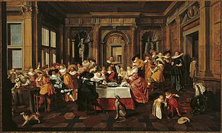 Festive Company in a Renaissance Room