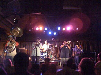 Dirty Dozen Brass Band - Dirty Dozen Brass Band in 2008