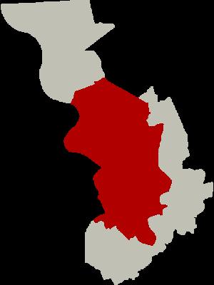 Antwerp (district) - Image: District Antwerpen Location