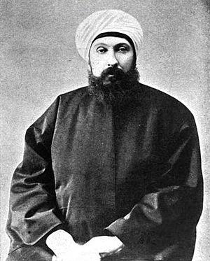 Shaykh al-Islām - Shaykh ul-Islam Mehmet Cemaleddin Efendi during the reign of Ottoman Sultan and Caliph Abdul Hamid II