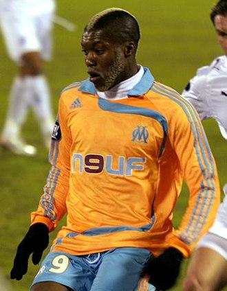 Djibril Cissé - Cissé playing for Marseille