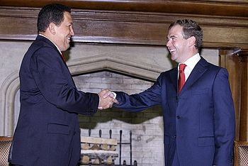 Dmitry Medvedev and Hugo Chavez 10 September 2009-1