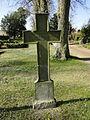 Dobbertin Klosterfriedhof Grabstein Wilhelmina Augusta C. G. von Bredow Reihe 1 Platz 13 2012-03-23 448.JPG