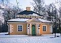 Dobrzyca; zespół pałacowo parkowy dom ogrodnika (oficyna) z końca XVIII w.jpg