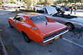 Dodge Charger 1969 RT General Lee Dukes AboveLSideRear SCSN 18Jan2014 (14399696650).jpg