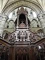 Dol-de-Bretagne (35) Cathédrale Saint-Samson Chaire 02.jpg