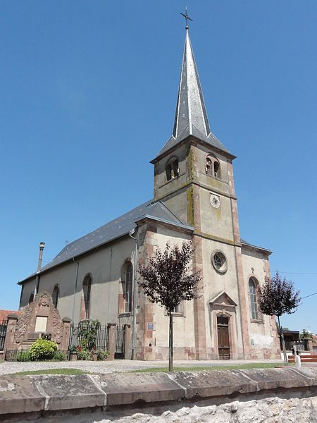 Domèvre-sur-Vezouze (M-et-M) église