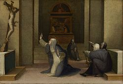 Domenico Beccafumi - Saint Catherine of Siena Receiving the Stigmata - 97.PB.25 - J. Paul Getty Museum.jpg
