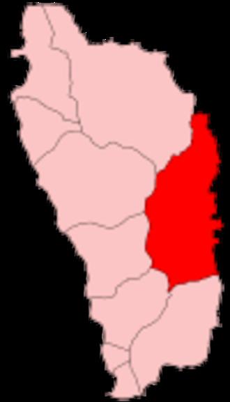 Saint David Parish, Dominica - Image: Dominica Saint David
