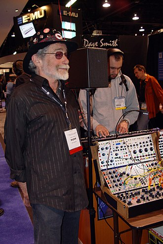 Don Buchla - Don Buchla and Buchla 200e  (2006 NAMM Show)