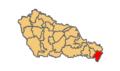 Donja Dubrava municipality location.png