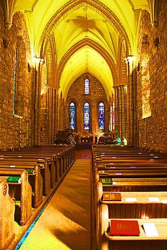 Dornoch Cathedral - Cathedral interior