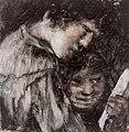 Dos niños mirando un libro, Francisco de Goya.jpg