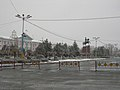 Dostyk Square in the Snow (5604543161).jpg