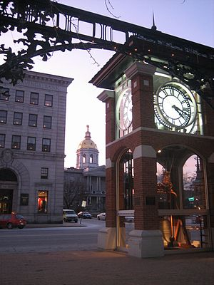 English: Downtown, Concord, New Hampshire