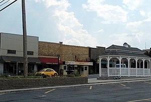 Huntsville, Arkansas - Huntsville Commercial Historic District
