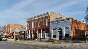 Macedonia, Iowa - Downtown Macedonia, Iowa