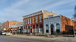 Macedonia, Iowa City in Iowa, United States