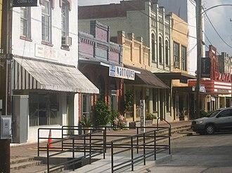 Wharton, Texas - Downtown Wharton