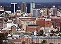Downtown looking north from Vulcan Park - panoramio.jpg