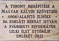 Dr. Korláti Bernát István emléktáblája Felhő utca 10.jpg