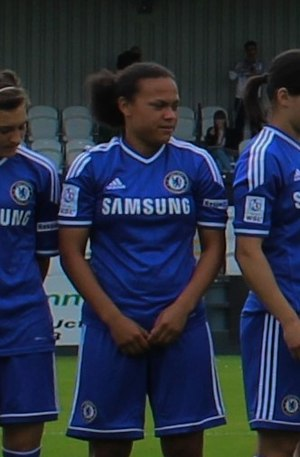 Drew Spence - Spence in 2014 with Chelsea.