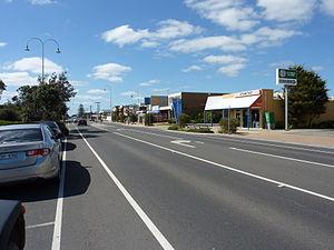 Dromana, Victoria - Image: Dromana Nepean Highway 2010