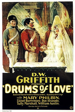 Drums of Love - theatrical poster