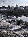 Dumfries, River Nith, Weir.jpg
