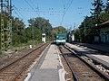 Dunaharaszti külső HÉV station from S, BHÉV MX (891), 2019 Dunaharaszti.jpg