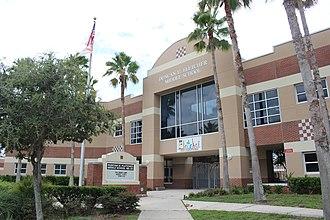 Neptune Beach, Florida - Image: Duncan U. Fletcher Middle School, Jacksonville Beach