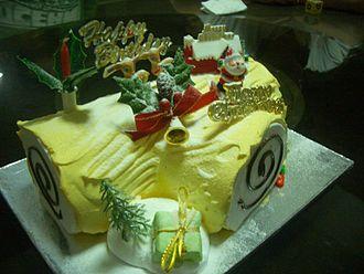 Tronchetto Bianco Di Natale.Tronchetto Di Natale Wikipedia