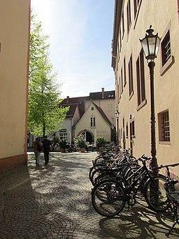 Am Zwinger in Karlsruhe