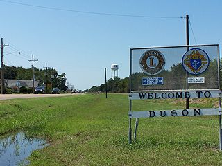 Duson, Louisiana Town in Louisiana, United States