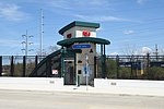 E. 105th-Quincy entrance on E. 105th Street (32782912817).jpg