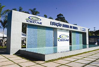 Water supply and sanitation in Brazil - Water treatment plant Barra da Tijuca, Rio de Janeiro