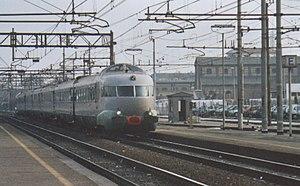 Settebello (train) - Preserved ex-Settebello trainset in 2003