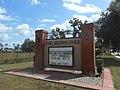Earl Brown Park Sign; SE Corner Hubbard & US 17-92.jpg