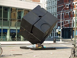 Tony Rosenthal - Alamo at Astor Place in Manhattan, New York City