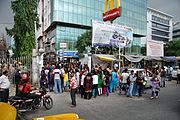 Earthquake Leads Office Evacuation - Ashram - Sector-V - Salt Lake City - Kolkata 2015-04-25 5982