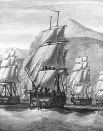 Chilean ship Lautaro (1818) - Image: East Indiaman Windham Lautaro