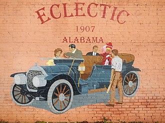 Eclectic, Alabama - Image: Eclectic Alabama Mural